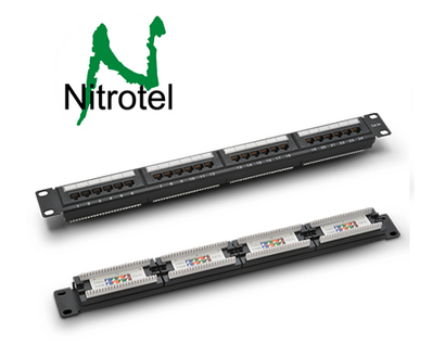 Nitrotel Patch Panel Certificado